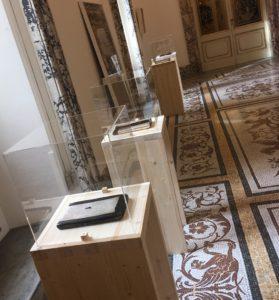 Opere di Laura de Santillana nella mostra OLTRE ROMA a cura di Sabino Maria Frassà - Palazzo Falconieri