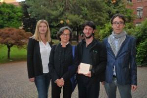 Da sinistra: Andi Kacziba, Nicoletta Corbella Pardi, Paolo Peroni, Sabino Maria Frassà