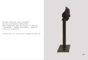 L'opera di Magdalena Abakanowicz inclusa nel libro d'artista OLTRE ROMA, a cura di Sabino Frassà per Cramum